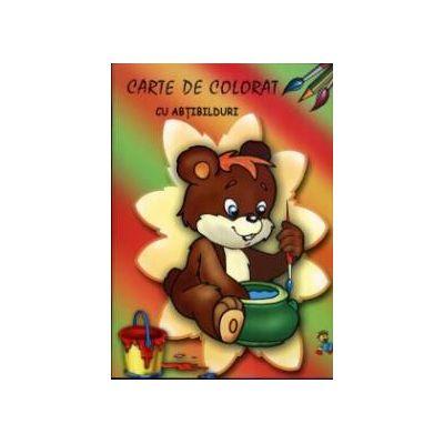Ursuletul - Carte de colorat cu abtibilduri