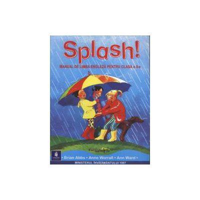 Splash! Manual de Limba Engleza pentru clasa a 2-a