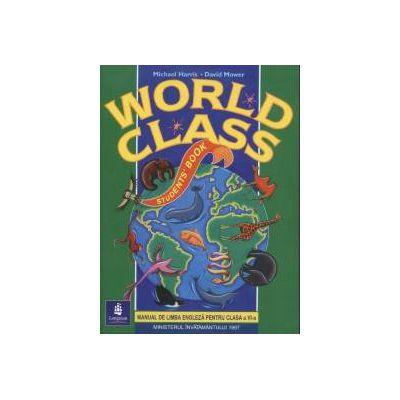 World Class Manual de Limba Engleza pentru clasa a 6-a
