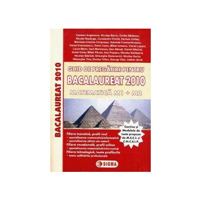 Ghid de pregatire pentru Bacalaureat 2010 - Matematica M1 + M2