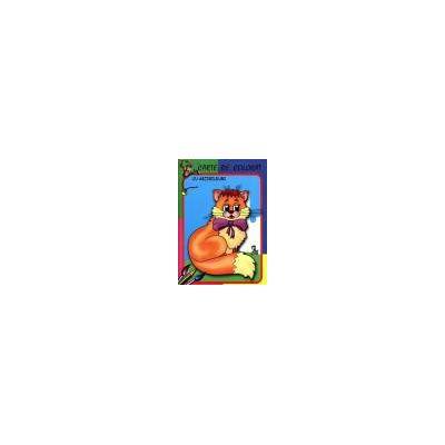 Motanelul - Carte de colorat cu abtibilduri