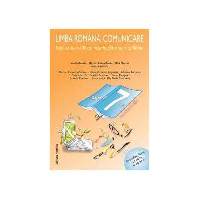 Limba română. Comunicare. Fise de lucru. Clasa a 7-a semestrul 1