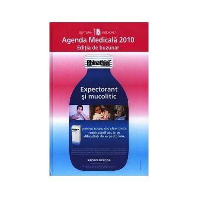 Agenda Medicala 2010. Editia de buzunar