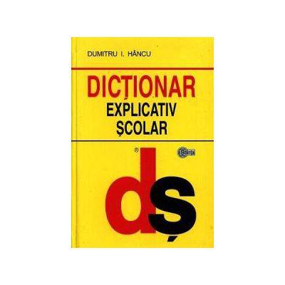 Dictionar explicativ scolar (cartonat)