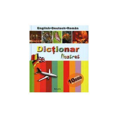 Dicţionar ilustrat English-Deutsch-Român