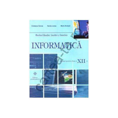 Informatica - clasa a XII-a