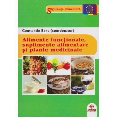 Alimente functionale, suplimente alimentare si plante medicinale