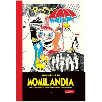 Aventuri în Momilandia #1 Tove Jansson