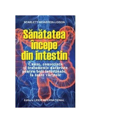 Sanatatea incepe din intestin.