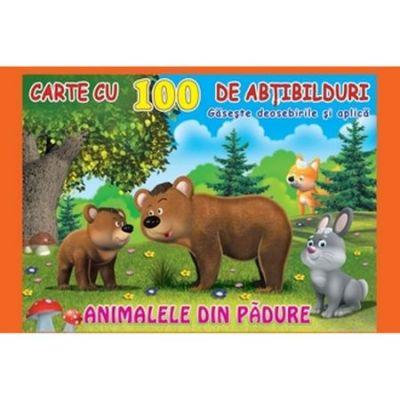 Animalele din padure. Carte cu 100 de abtibilduri