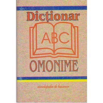 Dictionar de omonime de buzunar