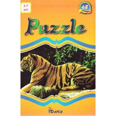Puzzle - Colectia Animale 1 - 48 de piese (3-7 ani)