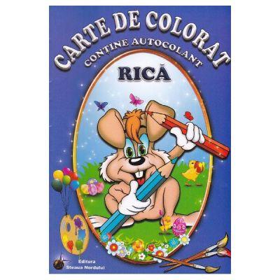Carte de colorat - Rica