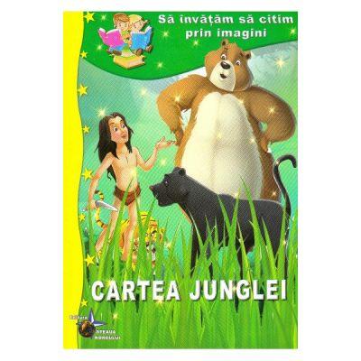 Cartea junglei - Sa invatam sa citim prin imagini
