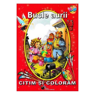 Bucle aurii - Citim si coloram