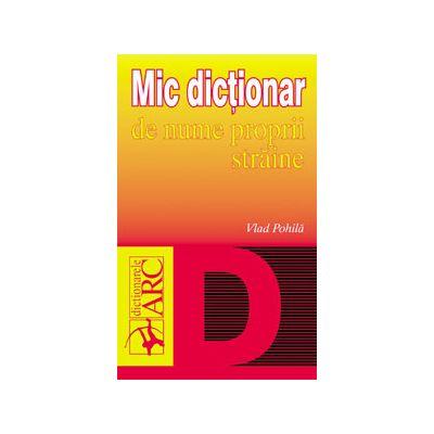 Mic dicţionar de nume proprii străine