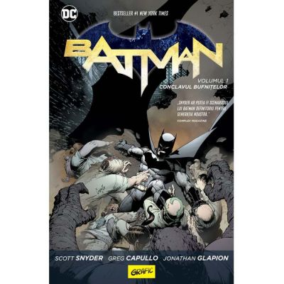 Batman #1. Conclavul bufnițelor - Scott Snyder