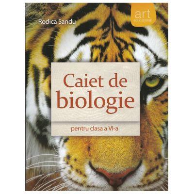 Biologie - Caiet clasa VI