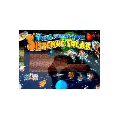 Harta sistemului solar pentru copii