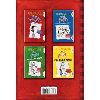 Box set Jurnalul unui puști - Jeff Kinney