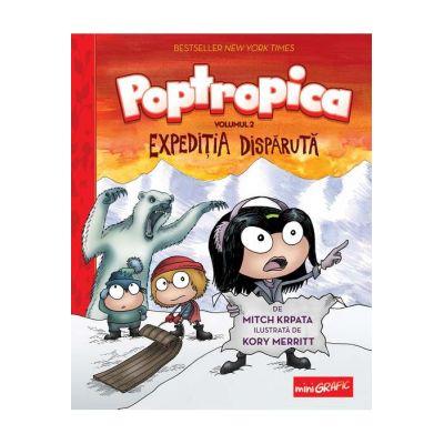 Poptropica. Volumul 2. Expediţia dispărută - Mitch Krpata