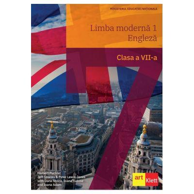 Limba modernă 1 - Engleză clasa a VII-a - Herbert Puchta, Jeff Stranks, Peter Lewis-Jones, Oana Stoica, Ioana Tudose, Ioana Adam