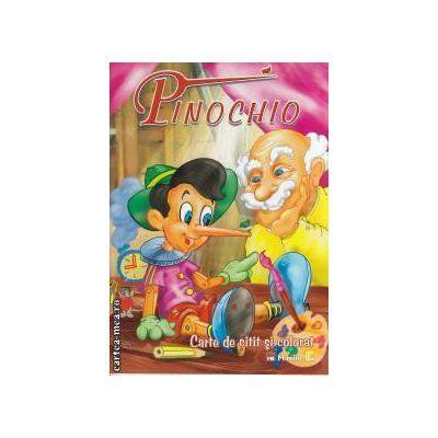 Pinochio Carte de citit si colorat