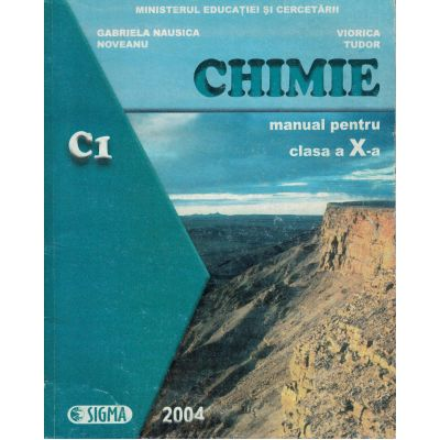 Chimie - Manual clasa a X-a