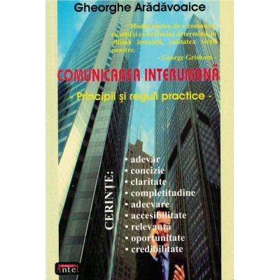 Comunicarea interumana – Gheorghe Aradavoaice