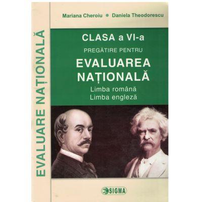 Evaluare Nationala - Romana-Engleza - Clasa a VI-a