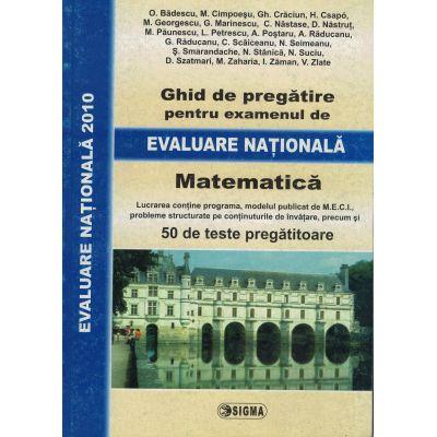 Evaluare Nationala 2010. Matematica