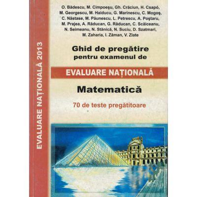 Evaluare Nationala 2013. Matematica