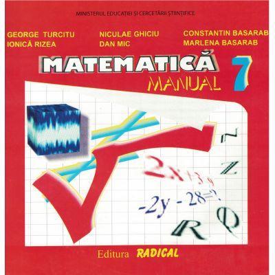 Matematica - Manual clasa a VII-a