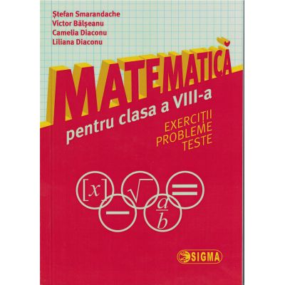 Matematica clasa a VIII-a