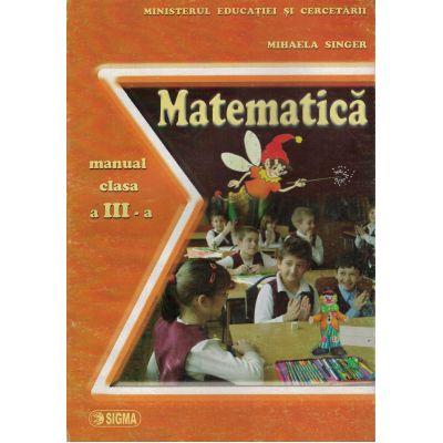 Matematica - Manual clasa a III-a