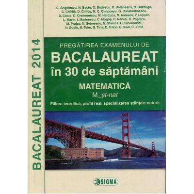 Pregatirea examenului de Bacalaureat 2014 - Matematica M_st-nat