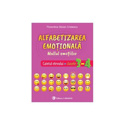 Alfabetizarea emoțională. Mallul emoțiilor. Caietul elevului. Clasele 3-4. AE34