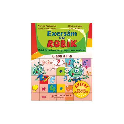 Exersăm cu Robik. Caiet de matematică. Clasa a II-a. SMR2E