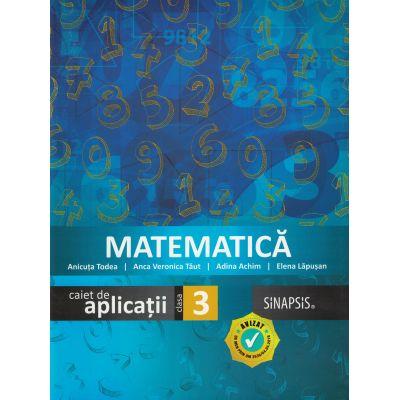 Matematica (Caiet de aplicatii) - Clasa a III-a