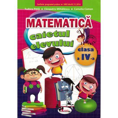 Matematica. Caietul elevului pentru clasa a IV-a.