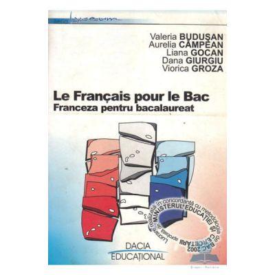 Franceza pentru Bacalaureat - Valeria Budusan, Aurelia Campean
