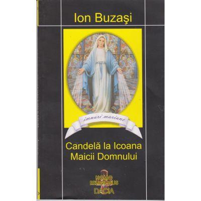 Candela la icoana Maicii Domnului - Ion Buzasi