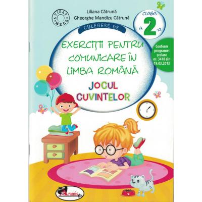 Culegere de exercitii pentru limba romana JOCUL CUVINTELOR. Clasa a II-a