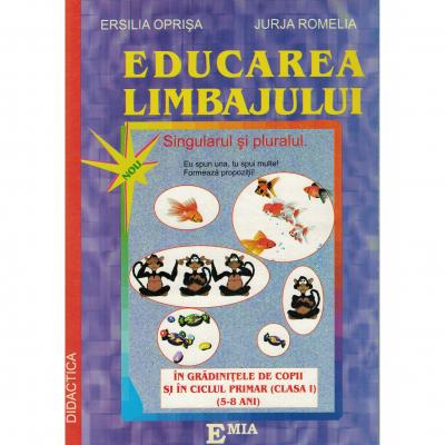 Educarea limbajului 5-8 ani. Termeni gramaticali simpli