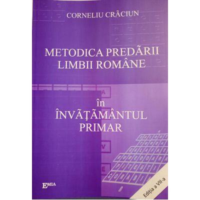 METODICA PREDĂRII LIMBII ROMÂNE ÎN ÎNVĂŢĂMÂNTUL PRIMAR