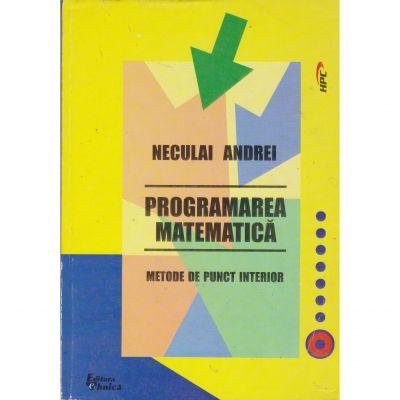 Programarea matematica - Neculai Andrei