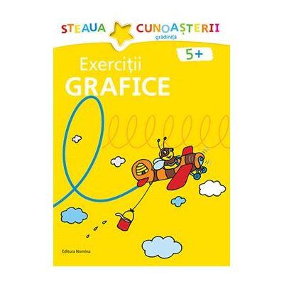 Exercitii grafice 5+ Galben - Birgit Fuchs