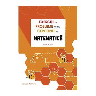 Exerciții și probleme pentru cercurile de matematică clasa a III-a