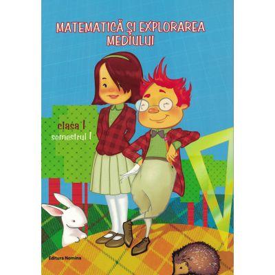 Matematica si explorarea mediului cls 1 - Dora Laura Viziteu