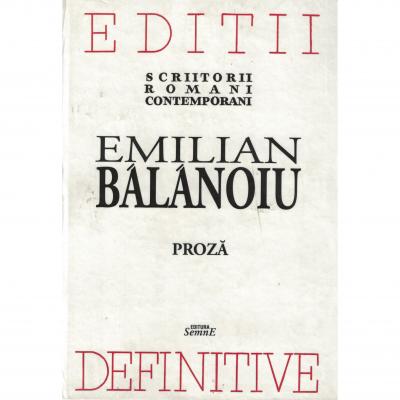Proza - Emilian Balanoiu
